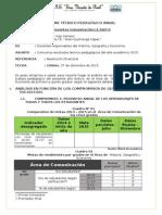 Informe Tecnico Pedagógico 2015