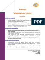 Hpa Ammonia Toxicological Overview v2