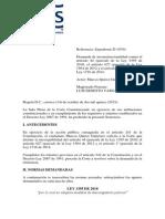 Sent-c-654-15- En Firme Entrada en Vigencia Del Código General Del Proceso