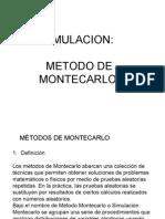 Simulacion Metodo de Monte Carlo