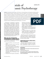 The Essentials of Psychodynamic Psychotherapy