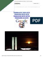 A Profecia Dos Presidentes Do Brasil - o Profeta Mundial