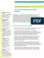 What is California's Continuum of Care Reform