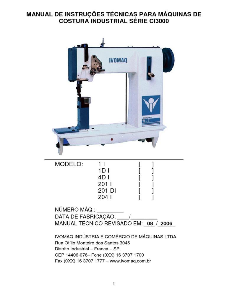 5bbc7352871 Manual Técnico CI3000