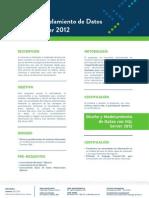 Diseño y Modelamiento de Datos Con SQL Server 2012