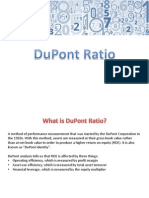 DuPont Ratio