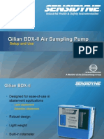 Gilian BDX II Air Sampling Pump