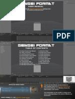 Sensei Format User Manual