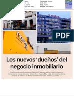 Lo nuevos dueños del negocio inmobiliario en España