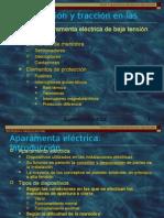 Electricidad. Aparamento Eléctrica de Baja Tensión