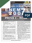 PROVA ENEM 2007 FINAL ROSA