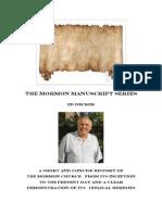 the Mormon Manuscripts