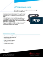 SHR22500 Liquid Ring Pump Datasheet - SHR22500895