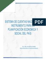 PLANIFICACION ECONOMICA DE UN PASI BASADO EN SU PBI?