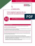 Cómo Registrar La Apertura de Una Sucursal de Sociedad Extranjera Colombia
