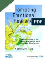 Emotional Resilience Workbook