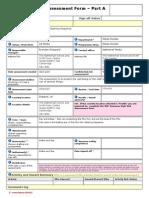 Task 12 - Netherhall Risk Assessment