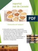 Transport internațional cereale