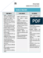 Plan Trimestral de Trabajo 2015-16. Biblioteca Juan Leiva