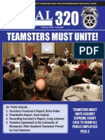 Teamsters Local 320 Winter Newsletter 2015