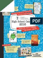 Random House 2016 High School Catalog