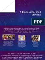 a proposal for ipad stations