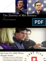 the journey of mitt romney