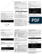 3HE06623AAAATQZZA01_V1_Alcatel-Lucent 7705 SAR Command Line Interface Quick Reference Card