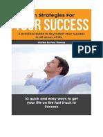 Ten Strategies for Your Success