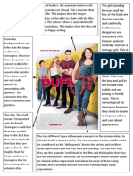 The DUFF Poster Analysis
