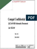 Asus a45v k45vd Compal La-8224p