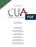 Informe de Progreso 3er Sem CUA UPRB
