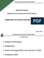 3. Diagnóstico Zonas Federales 2003 2009
