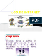 Encuesta Uso de Internet