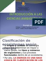 CLASE 12. Energia en Ecosistemas
