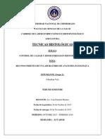 Informe de Tecnicas Histológicas