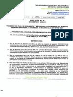 Resolucion Cabildo