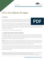 WisdomTree 2016 Japan 10 Surprises Jesper Koll