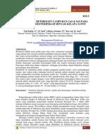 katalis basa heterogen campuran CaO dan SrO pada reaksi tranesterifikasi minyak kelapa sawit