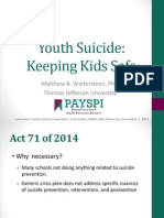 youth suicide - lancaster co school counselors  2015