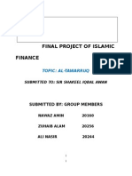 Islamic Finance Project on Tawarruq
