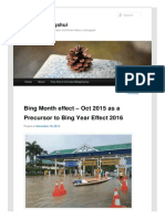Ziweibazifengshui Wordpress Com 2015-11-18 Bing Month Effect Oct 2015 as a Precursor to Bing Year Effect 2016 #More 150191