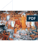Buddhist Temple Wall Painting