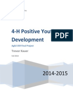 4-h youth development analysis
