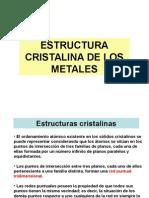 Estructura Cristalina de Los Metales