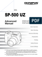 SP-500 UZ Advanced Manual