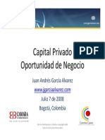 Capital Privado Oportunidad de Negocio