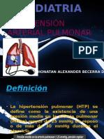 Exposicion hipertension pulmonar