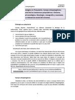 TEMA 2. Las Etiologías en Psiquiatría. Campo Etiopatogénico. Relevancia Social Del Síntoma.