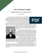 El Libro de Mormon en Espanol